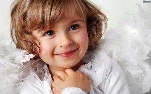 dievcatko, usmev, anjelik 178212